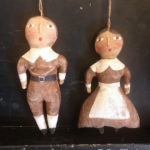Male and Female Pilgrim Ornaments Designed by tish Bachleda