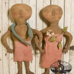 Adam and Eve doll set designed by Tish Bachleda