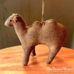 Amish Camel Ornament Design by Tish Bachleda