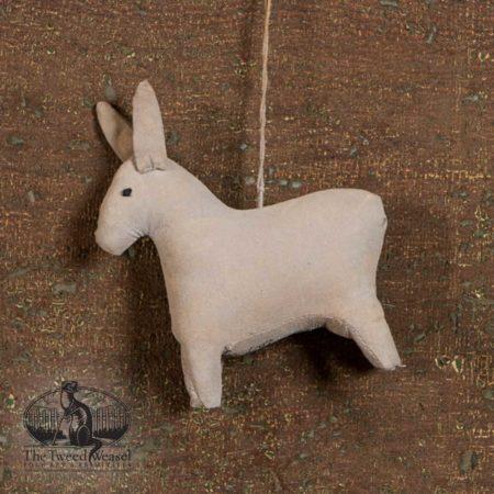 Amish Donkey Ornament design by Tish Bachleda