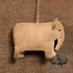 Amish Elephant Ornament design by Tish Bachleda