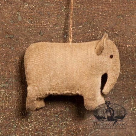 Amish Elephant Ornament design by Tish Bachleda