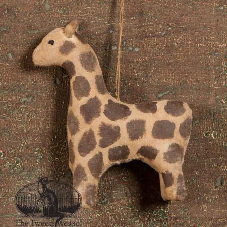 Amish Giraffe Ornament design by Tish Bachleda