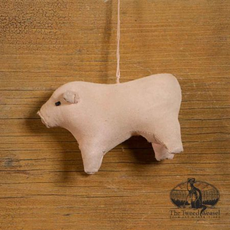 Amish Pig Ornament design by Tish Bachleda