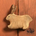 Amish Rabbit Ornament Design by Tish Bachleda