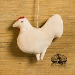 Amish Rooster ornament design by Tish Bachleda