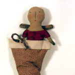 Angel in Stocking design by Tish Bachleda