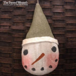 Arctic Snowman Ornament Design by Tish Bachleda