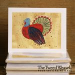 Autumn Turkey Artisan Card Design by Tish and Mike Bachleda