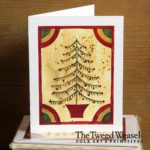 Feather Tree Artisan Card Design by Tish and Mike Bachleda