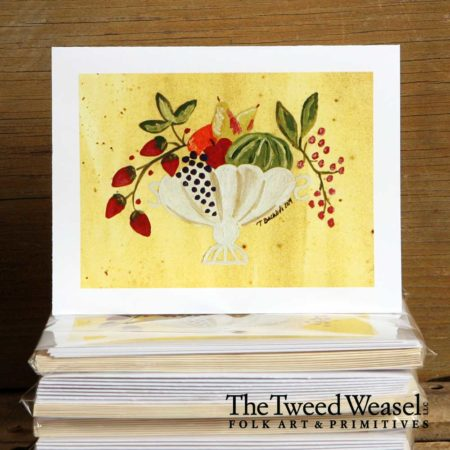 Fruit Bowl Artisan Card Design by Tish and Mike Bachleda