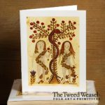 In the Garden of Eden Artisan Card Design by Tish and Mike Bachleda