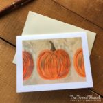Painted Pumpkins Artisan Card Design by Tish and Mike Bachleda