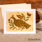 Partridge Artisan Card Design by Tish and Mike Bachleda