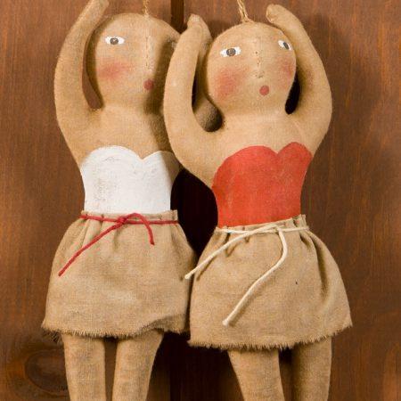 Ballerina ornament design by Tish Bachleda