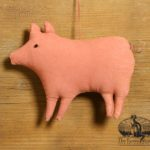 Barnyard Pig Ornament Designed by Tish Bachleda