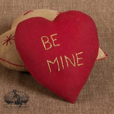 Be Mine Token Pillow design by Tish Bachleda
