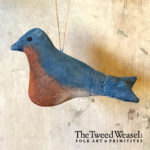 Bluebird Ornament Design by Tish Bachleda