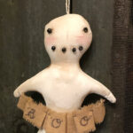 Boo Ghost Ornament Design by Tish Bachleda