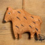 Brown Bear Ornament design by Tish Bachleda