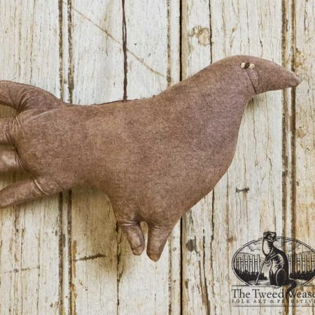 Brown Bird Ornament Design by Tish Bachleda