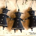 Burnt Cookie Witch Ornament Design by Tish Bachleda