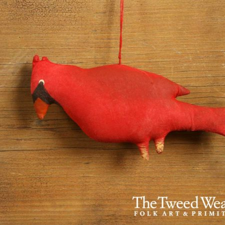 Cardinal Ornament Design by Tish Bachleda