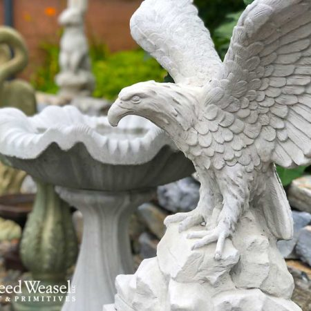 Heirloom Cement Garden Art