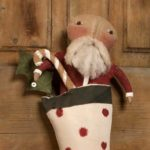 Christmas Morning Santa design by Tish Bachleda