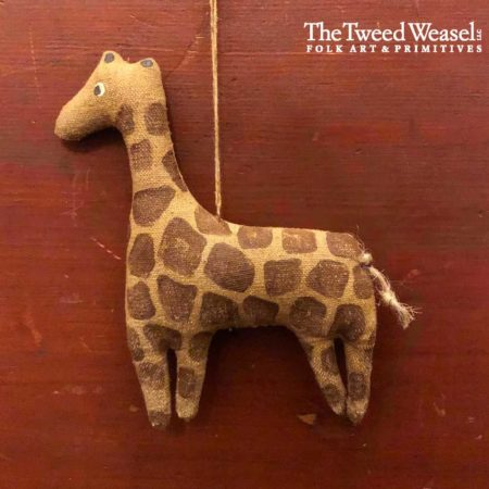 Circus Giraffe Ornament Design by Tish Bachleda