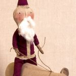 Circus Santa folk art design by Tish Bachleda