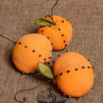 Cloved Orange Ornament design by Tish Bachleda