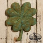 Medium Sized Painted Clover Design by Tish Bachleda