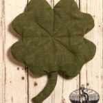 Large Four Leaf Clover Design by Tish Bachleda