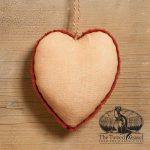 Cream Heart Ornament design by Tish Bachleda