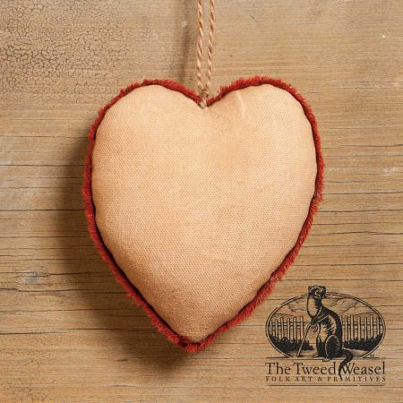 Cream Heart Ornament design by Tish Bachleda