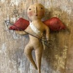 Cupid Ornament Design by Tish Bachleda