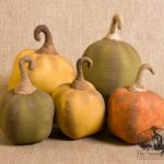 Curl Stem Pumpkin Design by Tish Bachleda