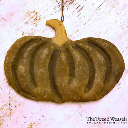 Early Pumpkin Ornament Design by Tish Bachleda