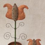 Fancy Potted Tulip Designed by Tish Bachleda. Available in Medium and Small Sizes.
