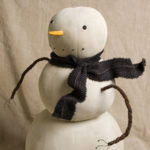 First Snow Large Snowman designed by Tish Bachleda