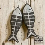 Fishbones Ornament Design by Tish Bachleda