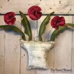 Flower Basket Trio Primrose design by Tish Bachleda