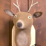 Folky Deer Mount design by Tish Bachleda