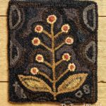 Foxglove Hooked Rug Design by Tish Bachleda