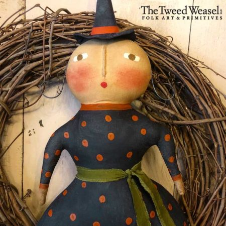 Friday Witch Doll Design by Tish Bachleda