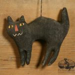 Fright the Cat Ornament Design by Tish Bachleda