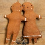 Gingerbread Boy and Girl Ornaments designed by Tish Bachleda