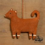 Gingerbread Dog Ornament design by Tish Bachleda