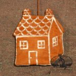 Gingerbread House Ornament design by Tish Bachleda